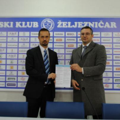 FK Željezničar i dugogodišnji partner ASA OSIGURANJE produžili su saradnju.