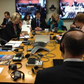 Direktor Svjetske banke za jugoistočnu Evropu Elen Goldštajn poručila je da je Svjetska banka spremna da prati BiH i da realizuje dogovorene projekte onoliko brzo, koliko to može BiH.