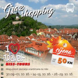 Graz je grad shoppinga i prekrasnih znamenitosti, živahan grad, najvećim dijelom zahvaljujući velikoj studentskoj populaciji.