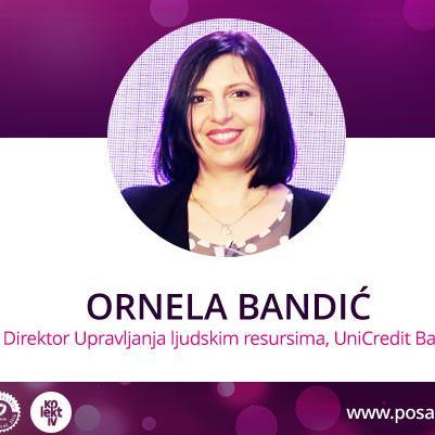 Ornela Bandić, direktorica Upravljanja ljudskim resursima, govori o tome šta priznanje Najpoželjniji poslodavac predstavlja za UniCredit bank d.d.