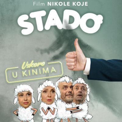 Stado je urnebesna satirična komedija o životu iza kamere, koju je režirao Nikola Kojo.