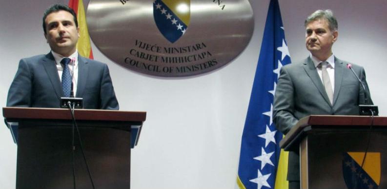 Zvizdić-Zaev: Zapadni Balkan u narednom proširenju treba postati dio EU