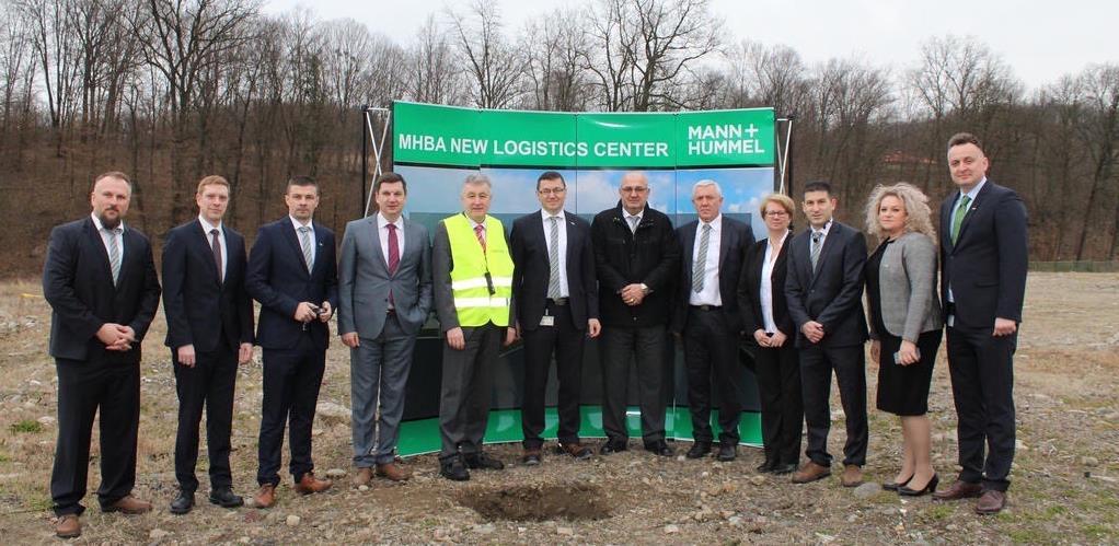 Počela gradnja novog logističkog centra kompanije Mann+Hummel BA