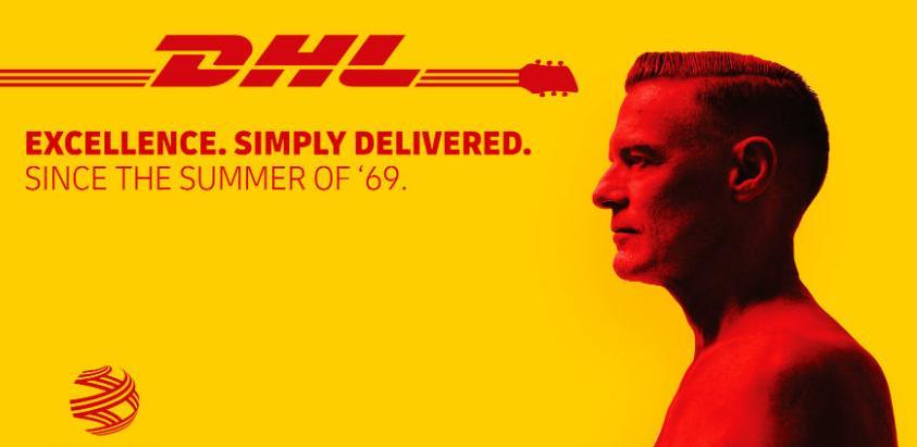 DHL zvanični logistički partner Bryana Adamsa na svjetskoj turneji 2019