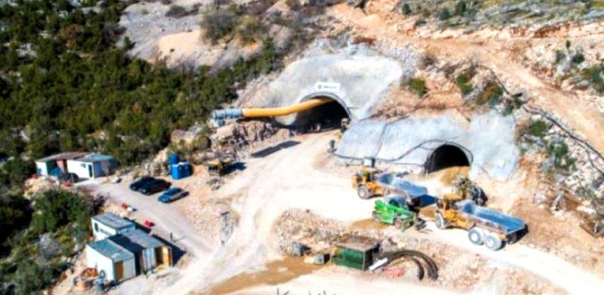 Tunel kroz Žabu gotovo probijen, počeli radovi iz pravca Stoca