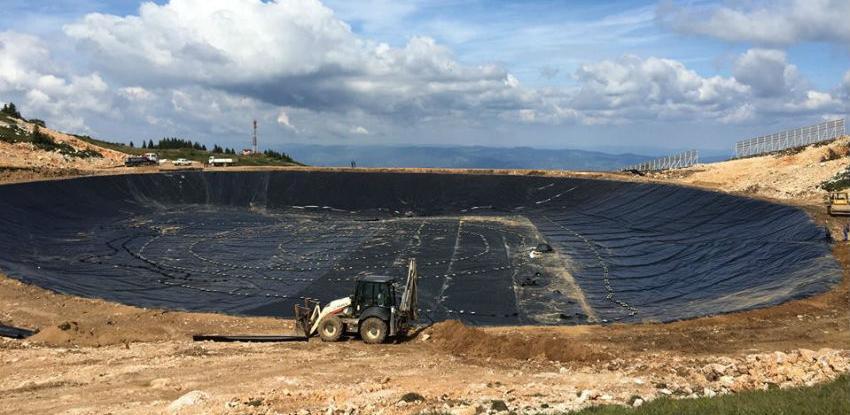 Vještačko jezero na vrhu platoa Poljice pušteno u rad