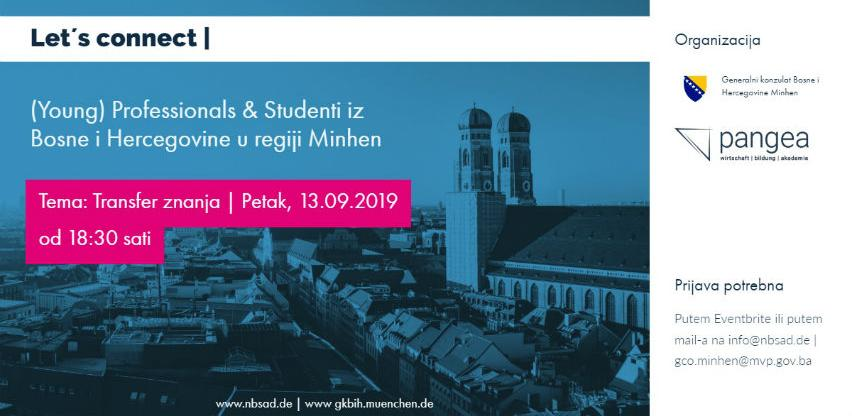 Transfer znanja: Susret mladih profesionalaca i studenata u Minhenu