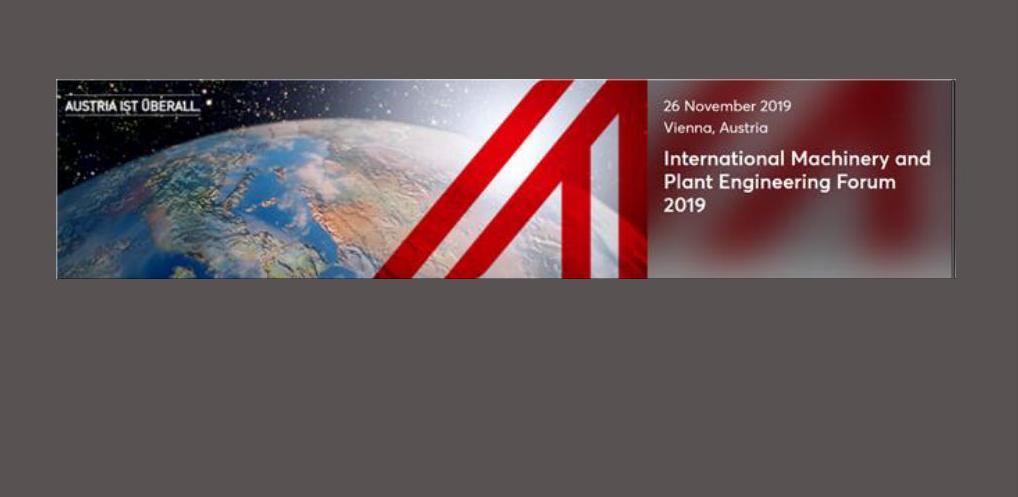 Internacionalni forum mašinstva i izgradnje postrojenja 2019