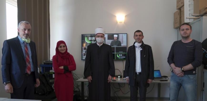 Počelo emitovanje BIR televizije, tv kanala Islamske zajednice