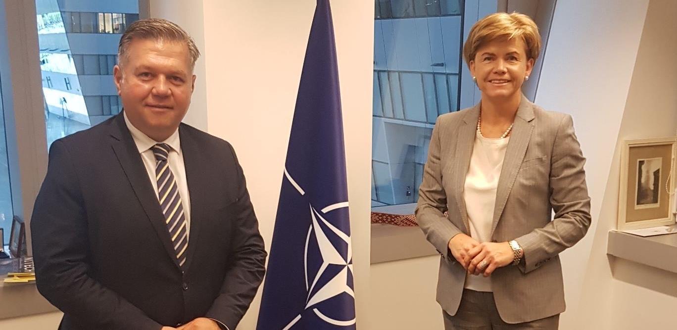 Predstavnici NATO-a ukazali na značaj nastavka suradnje s bh. institucijama
