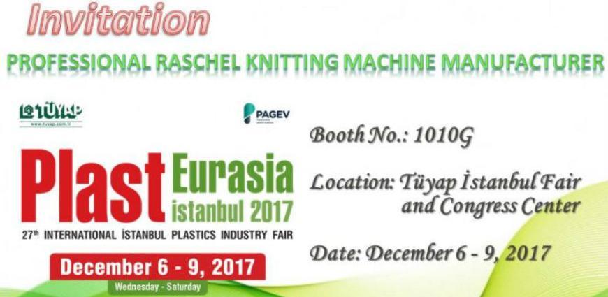 Poziv na 27. međunarodni sajam plastike – Plast Eurasia Istanbul 2017.