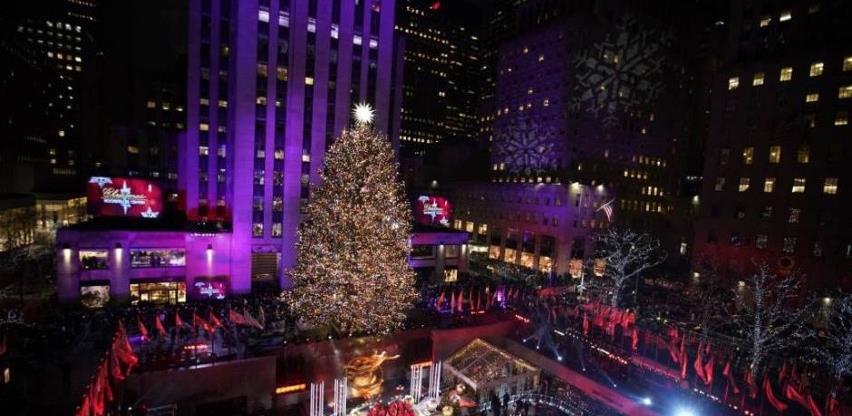 Božićno drvce u Rockefeller centru bit će osvijetljeno uprkos pandemiji