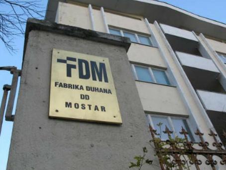 Vlada FBiH traži pokretanje stečajnog postupka u Fabrici duhana Mostar