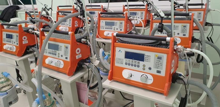 FUCZ završio posao: Respiratori verificirani i pušteni u rad
