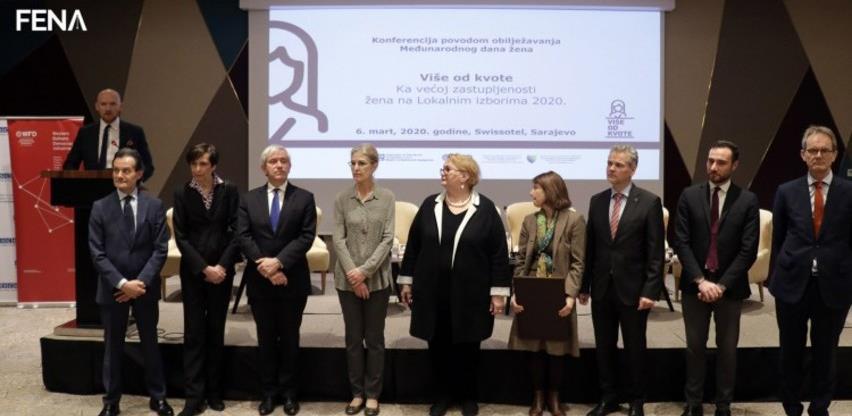 Međunarodni predstavnici: Žene treba da budu više zastupljene u politici (Video)