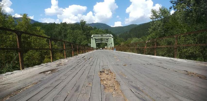 Umjesto rekonstrukcije starog, gradnja novog mosta u Rudom