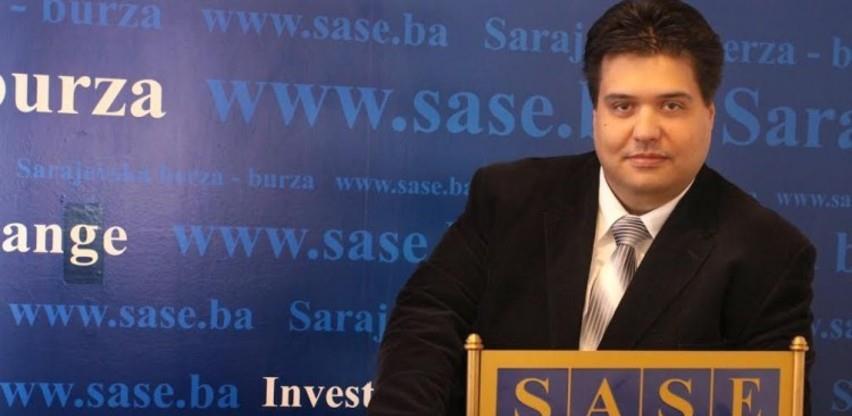 Kurbegović: Na domaćem tržištu kapitala dosad bez naglog i velikog pada cijena