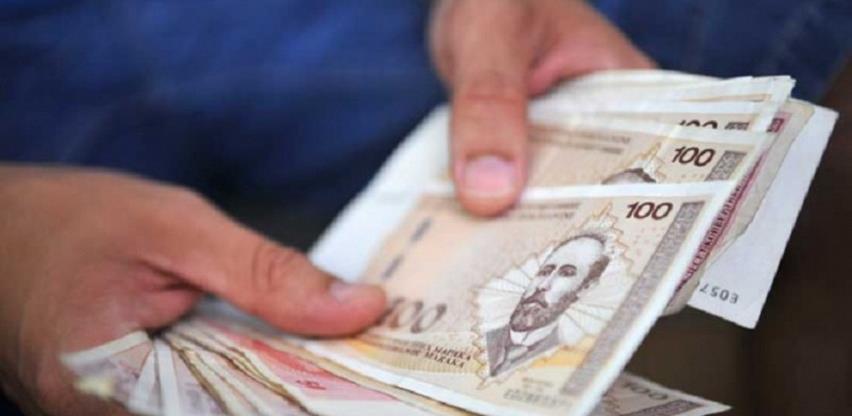 Prosječna plata u junu 999 KM