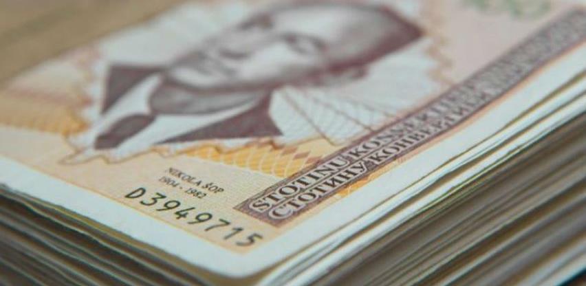 U junu prosječna neto plaća 953 KM, a bruto 1.469 KM