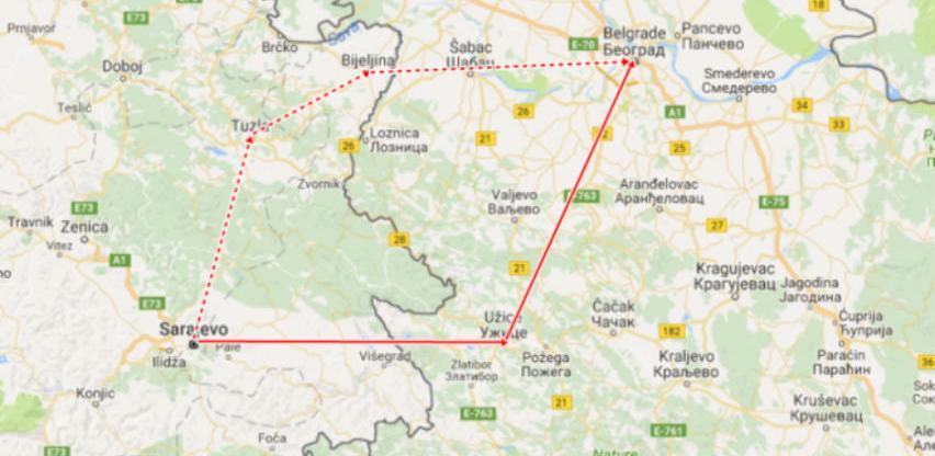 Gradnja autoputa Beograd-Sarajevo slijedeće godine