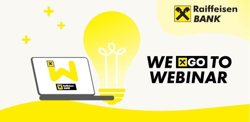 Webinari za klijente Raiffeisen banke