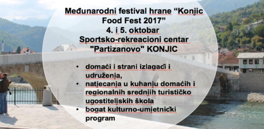 "Sutra počinje međunarodni festival hrane ""Konjic Food Fest 2017."""