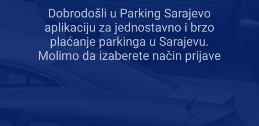 U toku trodnevna testna faza primjene mobilne aplikacije 'Parking Sarajevo'