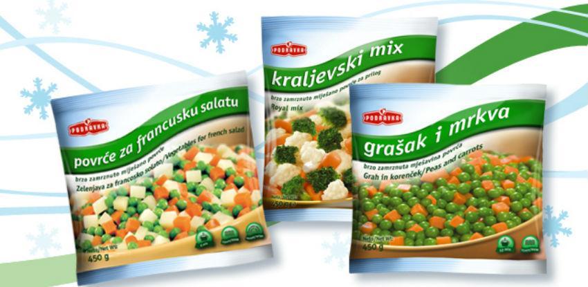 Podravka povlači smrznuto povrće