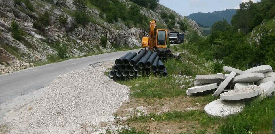 Firma Bujice gradi kanalizaciju u Trnovu