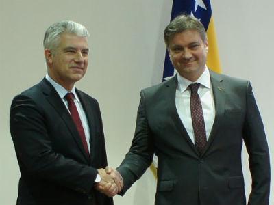 Zvizdić i Reichel: BiH na putu ka EU bilježi uspjeh
