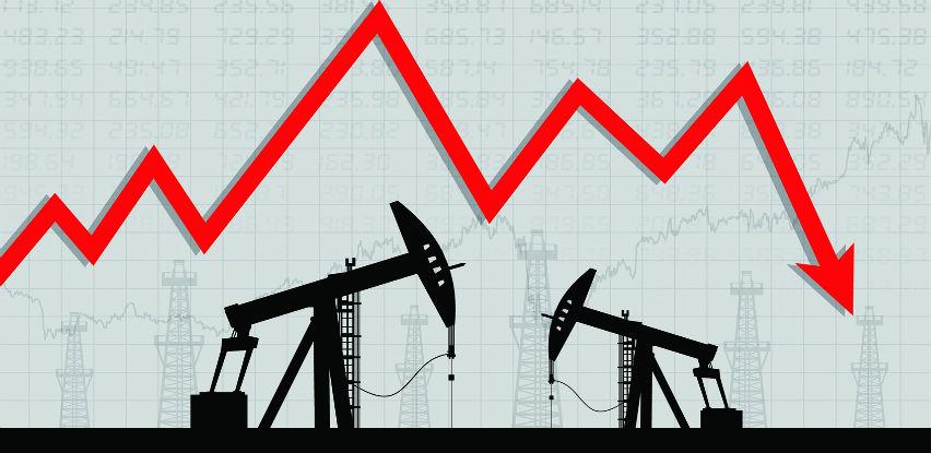 Cijene nafte na svjetskom tržištu danas u padu