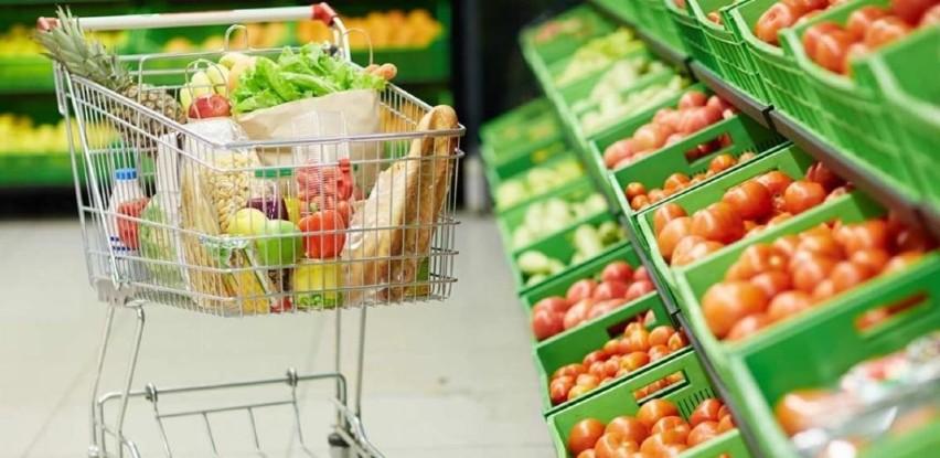 U januaru promet trgovine na malo u BiH veći za 3 odsto