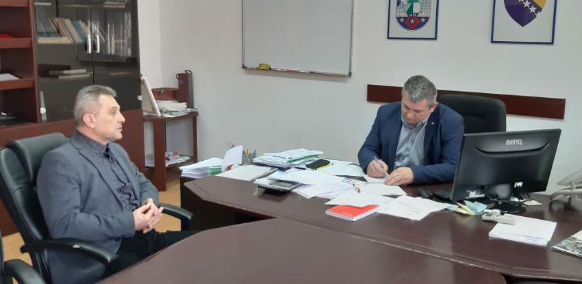 Predsjednik PKUSK u posjeti privrednim subjektima u Bosanskom Petrovcu