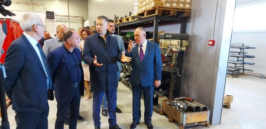 """U industrijskoj zoni """"Celpak"""" u Prijedoru otvoren novi pogon"""