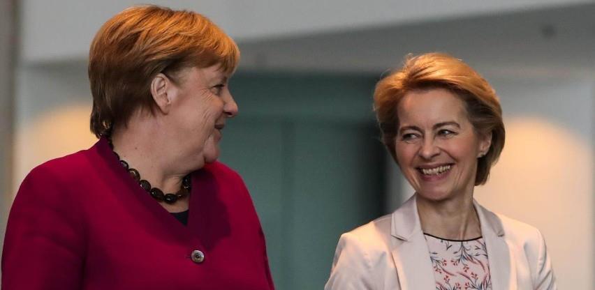 Von der Leyen i Merkel pozivaju na što brži dogovor o planu za oporavak
