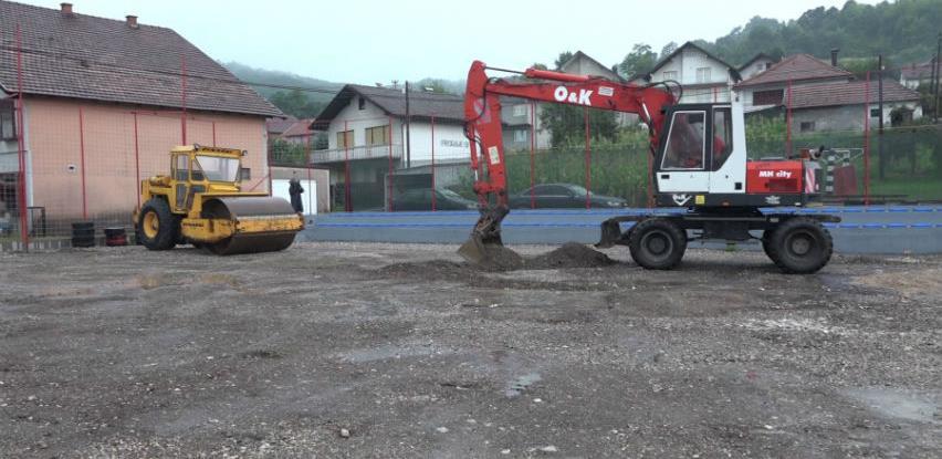 Naselje Tinja Donja u Srebreniku dobija sportski poligon za djecu i mlade