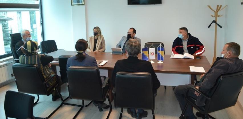 Nastavak aktivnosti na rješavanju pristupnog puta na lokalitetu naselja INA