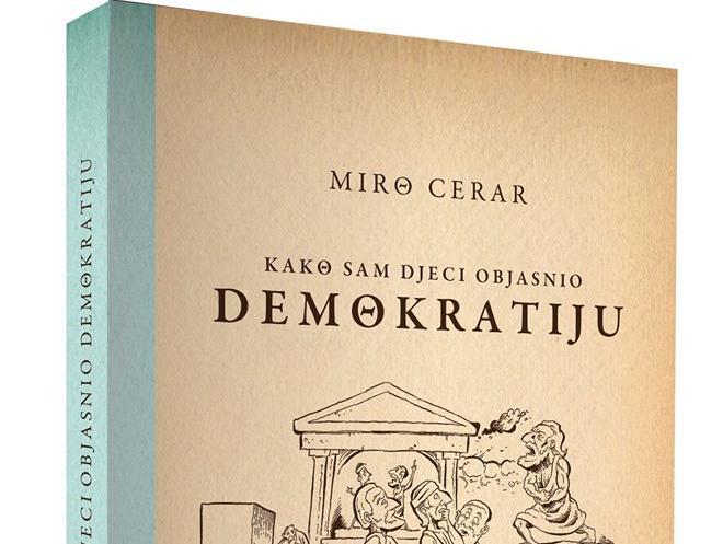 'Kako sam djeci objasnio demokratiju' dr. Mire Cerara u prodaji u Buybooku