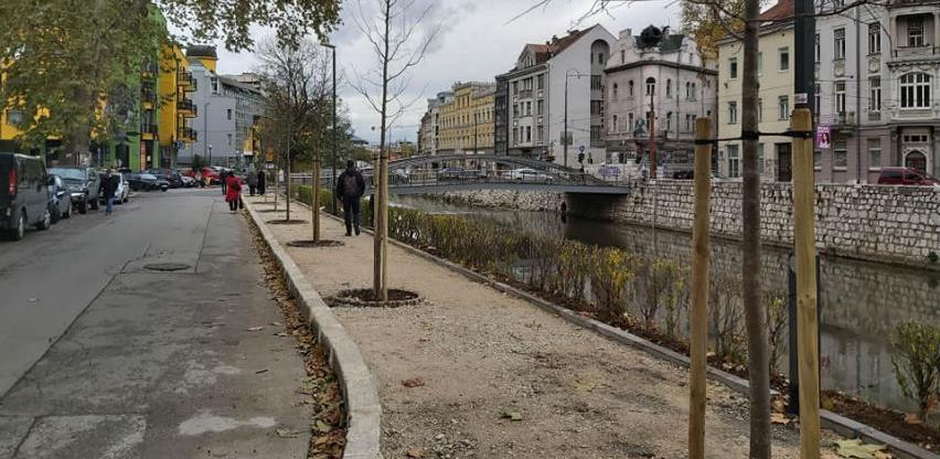 Završni radovi na rekonstrukciji sarajevskog parka At Mejdan
