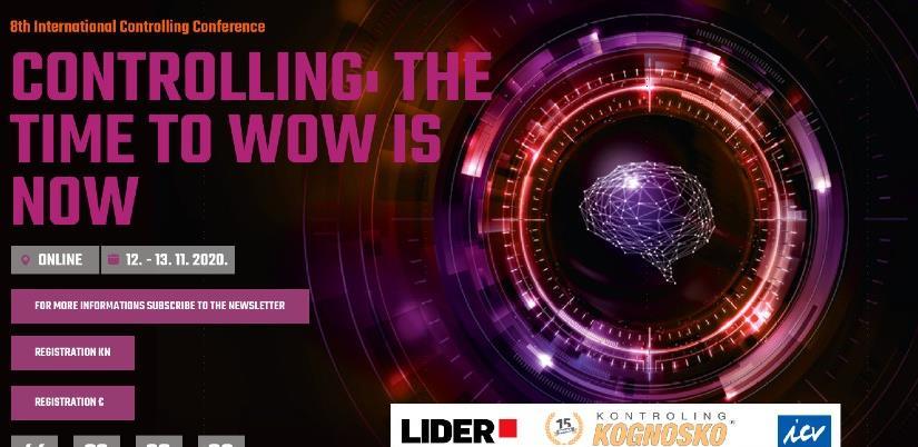 Konferencija o kontrolingu ove godine u online svijetu