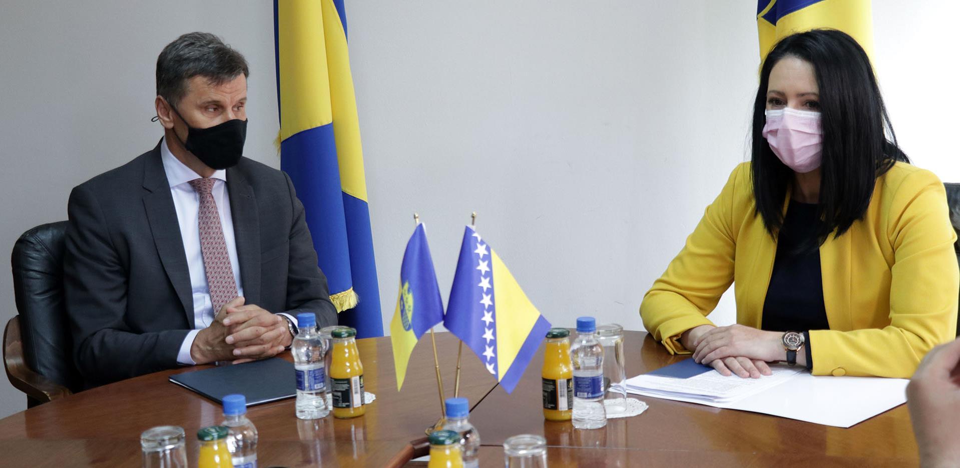Sa sastanka premijera: BPK Goražde ima najbrži ekonomski oporavak od Covida