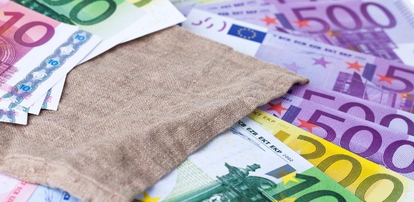 Dobit ECB-a pala zbog manjih prihoda od kamata