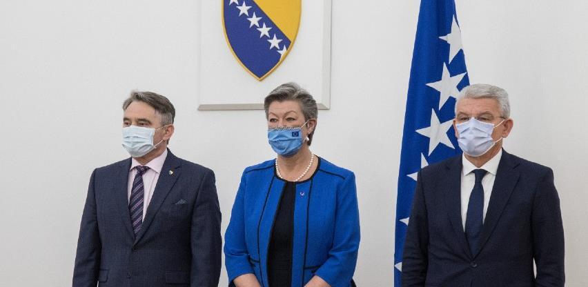 Članovi Predsjedništva BiH primili komesarku za unutrašnje poslove Evropske unije