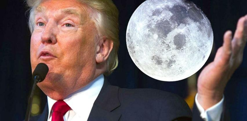 Trump želi na Mjesec u idućih pet godina