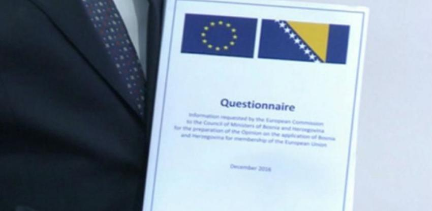 Istekao rok za dostavljanje dodatnih odgovora na Upitnik Evropske komisije