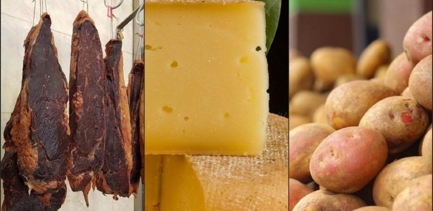BiH će zaštititi livanjski sir, visočku pečenicu i nevesinjski krompir