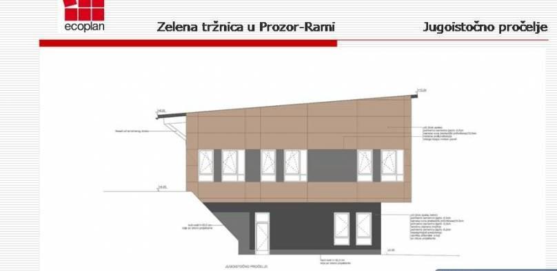 Općina Prozor-Rama raspisala konkurs za drugu fazu izgradnje tržnice