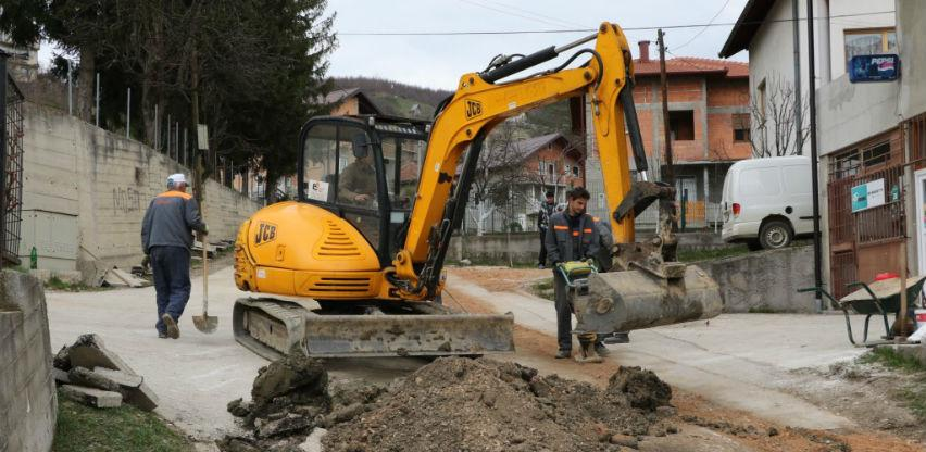 U toku izgradnja 2,5 kilometra nove vodovodne mreže u naselju Zabrđe