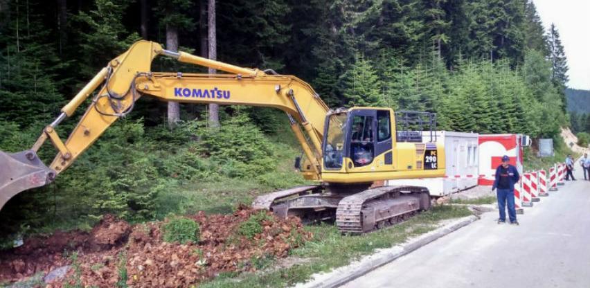 Ozvaničen početak radova na rekonstrukciji regionalnog puta Lukavica - Pale