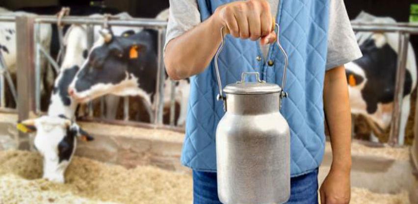 Uplaćeno 2,24 miliona KM za premiju za mlijeko